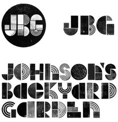 Johnson's Backyard Garden identity