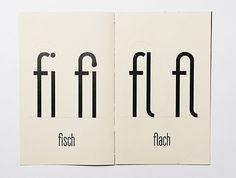 __ #graphic design #typography #ligature