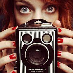 AHONETWO #eyes #camera #women #ahonetwo