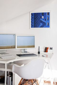 Miłosz Bolechowski's stunning workspace. #interior #design #decor