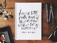 script, hand type, typography
