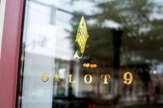Oxlot 9 Restaurant Branding #branding #fish #oxlot #gold #logo