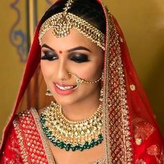 wedding makeup look for dulhan