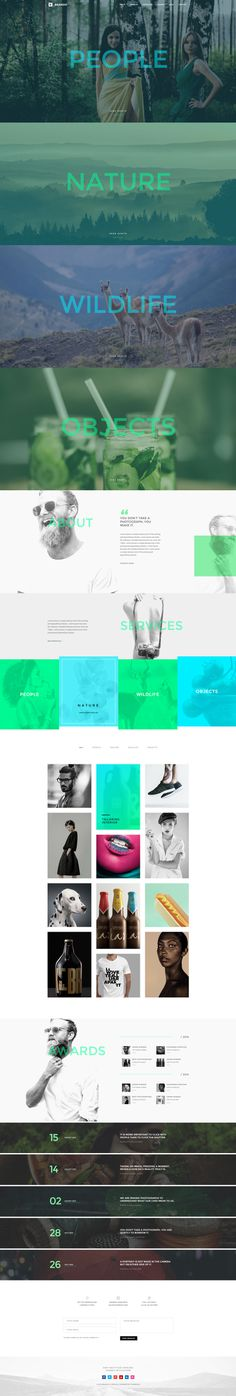 Brando #Responsive & #Multipurpose #OnePage #Template For #Photography by #ThemeZaa http://goo.gl/VGP5GC