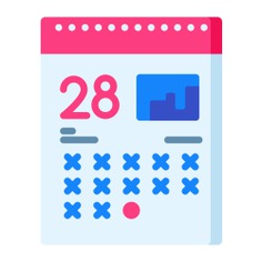 See more icon inspiration related to calendar, clock, date, time, time and date, business and finance, deadline and business on Flaticon.