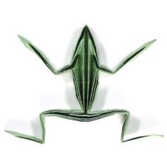 How to make a simple origami frog II (http://www.origami-make.org/howto-origami-frog.php)