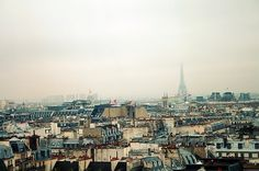 View from centre Pompidou_2   Flickr - Photo Sharing! #paris #centre #pompidou #roof #view