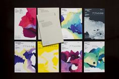 10,000 Digital Paintings · FIELD Generative Strategies in Graphic Design #print #colors