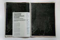 Night Bird on Behance #print #design #newspaper #layout #editorial #magazine