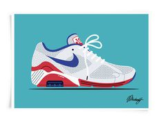 Nike Air Max 180 #pattern #arnold #nike #illustration #fashion #style #michael