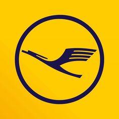 Lufthansa Logo #lufthansa #travel #lh #kranich #logo #dlh #deutsche