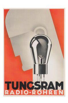 MACHINE AGE Poster Tunsgram Radio Vintage Tube Amp Poster