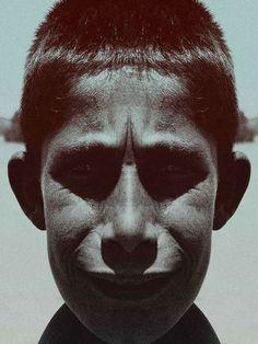 Pale Grain #kid #print #people #manipulation #face