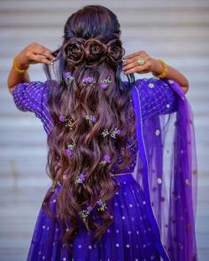 Three Roses Braid For Long Hair