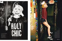 Martha Hunt, Henriett Barabas and Camilla Christensen by Ellen Von Unwerth #fashion #photography #inspiration