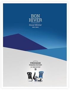 Bon Hiver Snowboarding | Neuarmy™ #design #poster