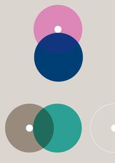 Print-Process / Product / Light grey dots 4 #process #print #bennett #shapes #geometric #poster #david