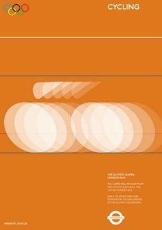 Alan Clarke: Olympic posters proposal (Monoscope) #olympic #alan #clarke #poster