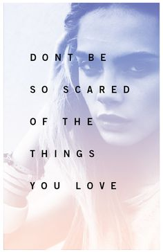 QUOTE #tropical #models #modern #board #color #design #delevingne #strokes #blush #summer #poster #fashion #cara #brush #blue #high #style #typography