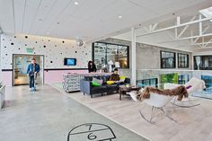 Airbnb's San Francisco Headquarters #interior #office #design #architecture #workspace #startup