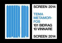 Henrik Nygren—Design — Screen 2014 #helvetica #print #poster