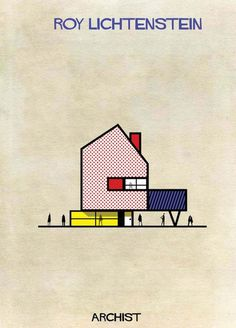 6-Federico-Babina-Archist-Series-yatzer #illustration #design #architecture