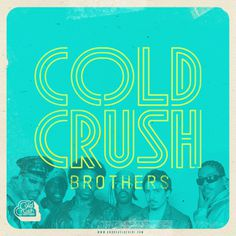 """Cold Crush Brothers"" #typography #design #hiphop #oldschool #retro"