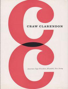 Craw Clarendon specimen