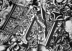 The Hand Drawn Typography of Greg Coultan   Hi Fructose Magazine