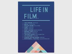 LIFE IN FILM FLYERS   STUDIO MOROSS