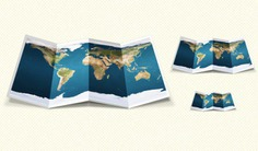 Fold graphic map ui Free Psd. See more inspiration related to Map, Graphic, Ui, Horizontal and Fold on Freepik.