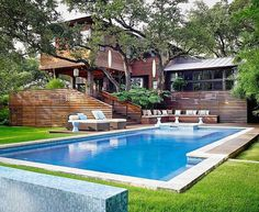 Asian Influences in Austin, Texas: The Lovely Tarrytown Residence #architecture