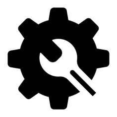 See more icon inspiration related to gear, cogwheel, configuration, settings and Tools and utensils on Flaticon.