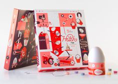 Javier Garcia :: Hatch egg coloring kit