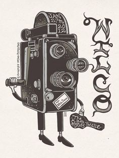 Wilco by Jim Mazza #mazza #camera #illustration #jim