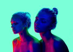 Neon Colors: Cosmic Fashion Photography by Slava Semeniuta