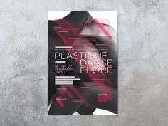 Plastique Danse Flore 2009 | Chevalvert #poster