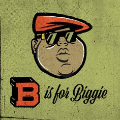 Biggie Smalls #biggie #hiphop #music #cartoon