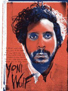 Image of Yoni Wolf #silent #print #yoni #the #screen #giants #handwritten #wolf