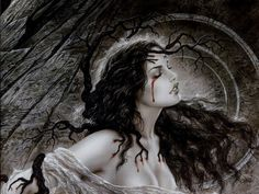 Dark Fantasy Paintings by Luis Royo #royo #fantasy #luis #paintings #dark