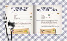 Lidl Cookbook on the Behance Network #designbureau #24 #editorial #austria