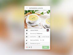 Widget #ui #app #widget #restaurant