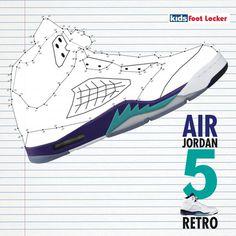 air jordan 5, retro, Foot Locker