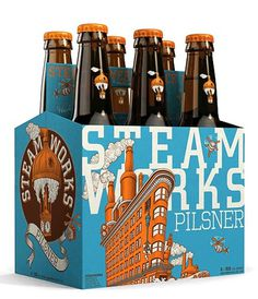 Steamworks Brewery Six Pack #beer #package