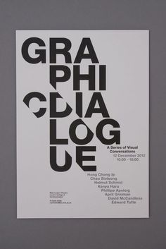 Graphic Dialog by Tom Hornby #type