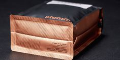 Coffee packaging from Atomic