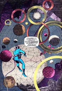 Jack Kirby collage, Fantastic Four