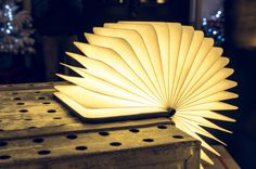 Portable Book-Shaped Lamp