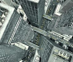 The city from up above #perspective #city #photography