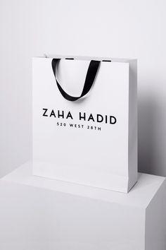 Zaha Hadid #bag #branding #logo #identity #motherdesign #julestardy #architecture